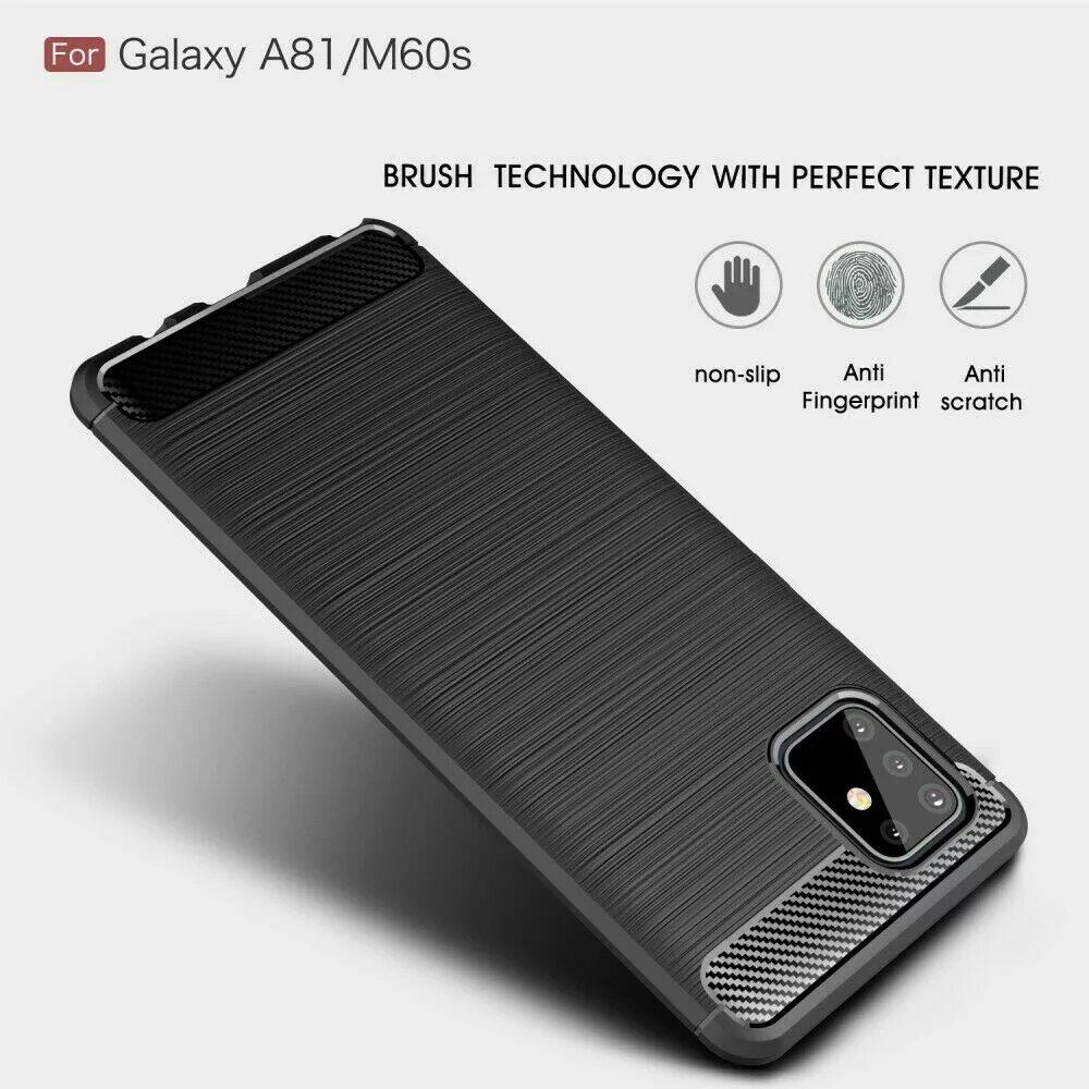 Samsung Galaxy A81 в чехле