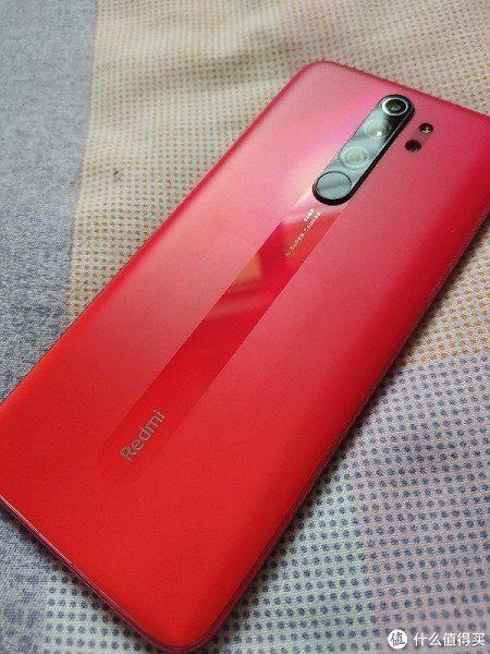 Вариация расцветки Orange Twilight с матовой поверхностью стекла Redmi Note 8 Pro