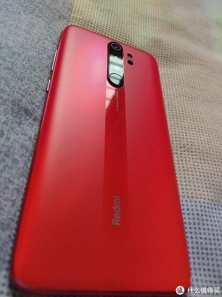 Вариация расцветки Orange Twilight с матовой поверхностью стекла Redmi Note 8 Pro_2