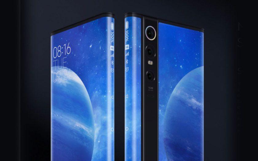 Xiaomi активно разрабатывает обволакивающий смартфон, похожий на Mi Mix Alpha