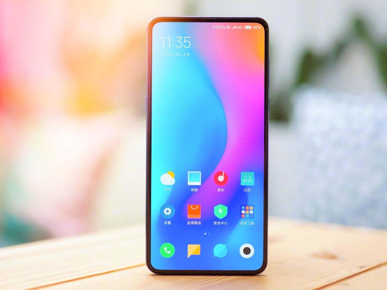 Xiaomi Mi 10 не будет иметь отверстий в экране под фронтальный объектив
