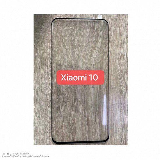 защитное стекло Xiaomi Mi 10 не имеет каких-либо отверстий под селфи-камеру