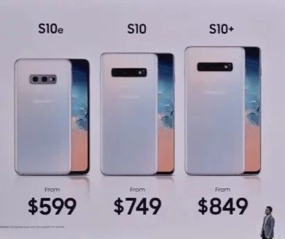 Серия Galaxy S10 - снижение цен