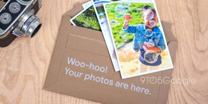 Google выбирает 10 фото из альбома, распечатывает и присылает домой
