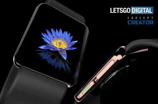 Первые «умные» часы от OPPO воссоздали в новом рендере