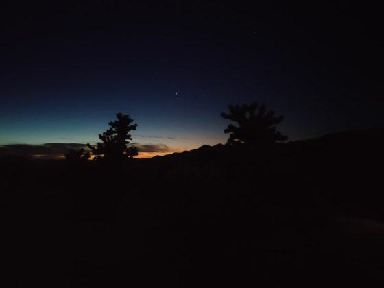 Снимок без включения ночного режима