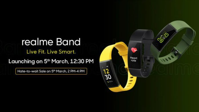 Скоро выйдет Realme Band – конкурент Honor Band 5 и Mi Band 4