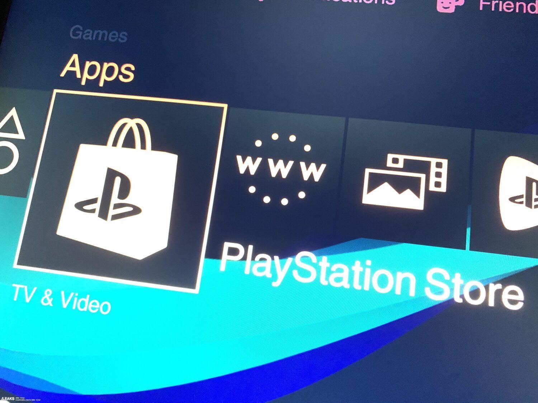 Реальный интерфейс Play Station 5 на «живом» фото
