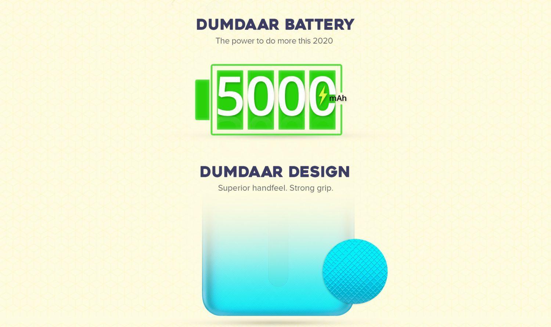 Емкость батареи Redmi 9a