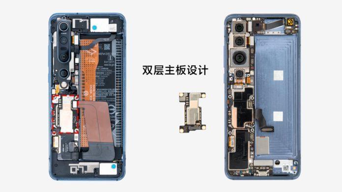 Xiaomi Mi 10 Pro после разборки