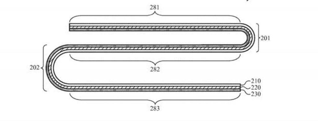 Apple запатентовала необычный механизм складывающегося смартфона