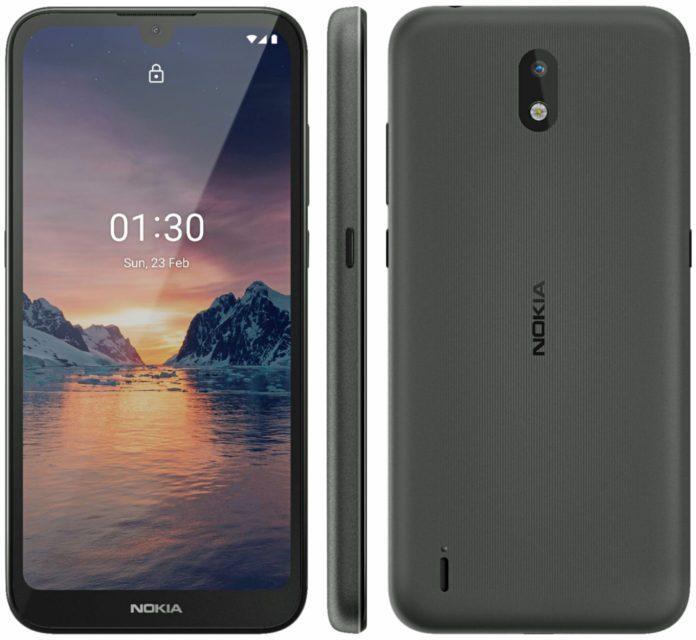 Официальный рендер самого дешевого смартфона Nokia