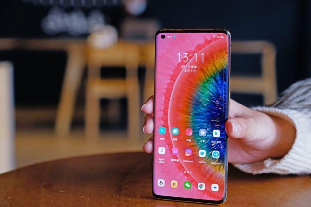 Дисплей Oppo Find X2