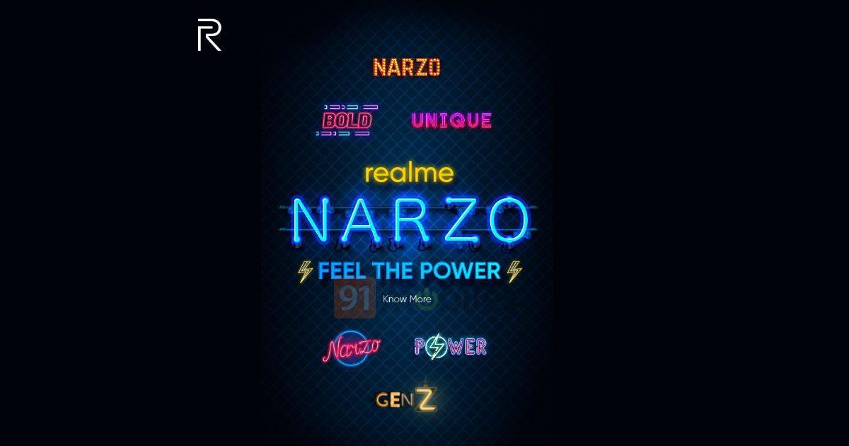 Realme продолжает отвоевывать позиции у Redmi и Poco, анонсировав разработку новых смартфонов – Narzo