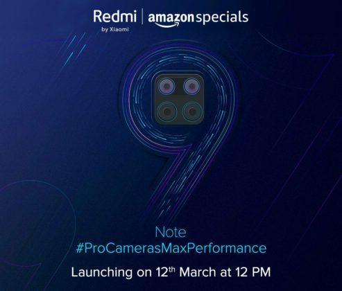 Redmi Note 9 - дата презентации