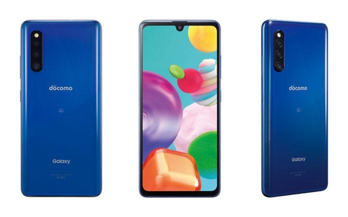 Среднебюджетник Samsung Galaxy A41 анонсирован в Японии