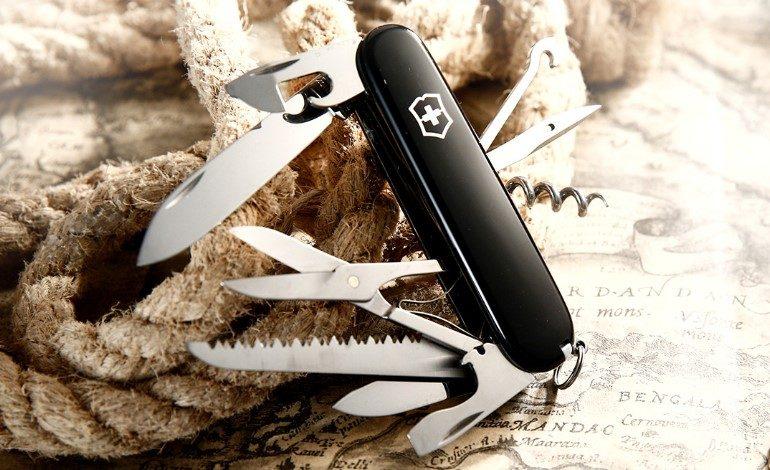 Нож в черном цвете