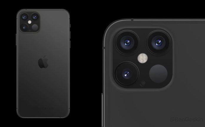 iPhone 12 Pro с датчиком LiDAR