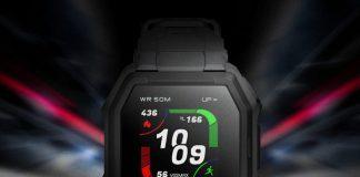 Huami тизерит защищенные смарт-часы