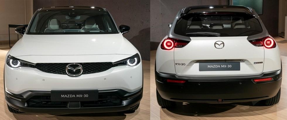 Mazda выпустил свой первый автомобиль на электрическом двигателе – MX-30
