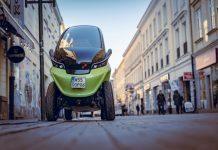 Новый автомобиль может регулировать свою ширину