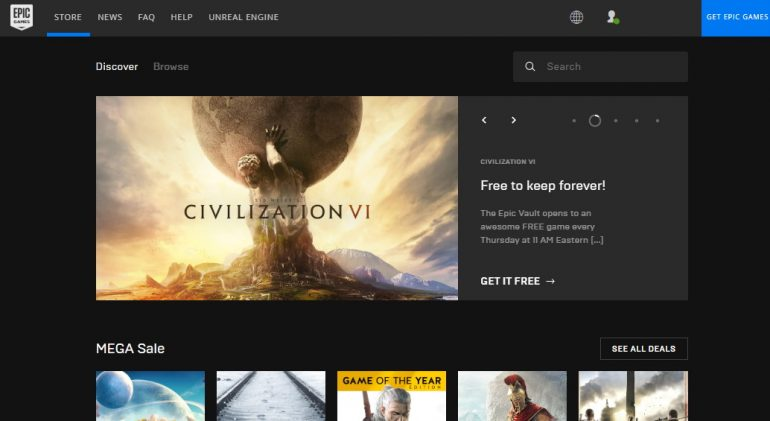 В магазине Epic Games до 28 мая можно бесплатно скачать Civilization 6