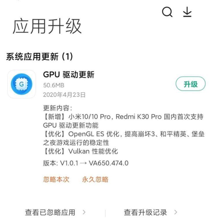 Обновление GPU для флагманов Xiaomi