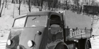 82 года назад выпущен пивной грузовик Skoda – первый электрокар бренда