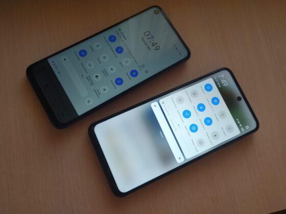 Максимальная яркость лучше в Redmi Note 9s
