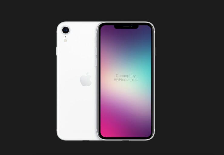 Новый iPhone SE (2022) получит дизайн iPhone XR