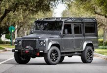 Land Rover Defender & Tesla