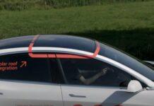 Lightyear тестирует солнечные панели на Tesla Model 3
