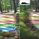 Снимок Realme 6 слева
