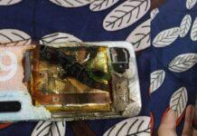 Смартфон Realme XT взорвался сразу после покупки
