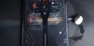 Nubia Red Magic 5G с 16 ГБ и прозрачным корпусом впервые появился на живом видео