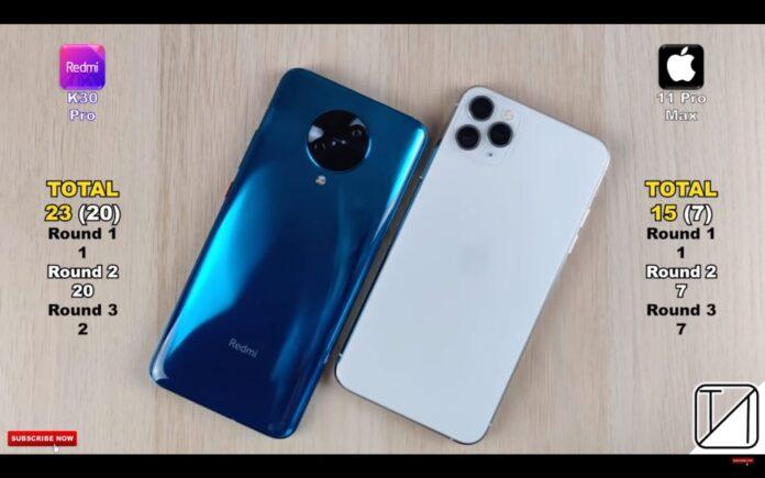 Сравнение производительности Redmi K30 Pro и iPhone 11 Pro практическим тестом