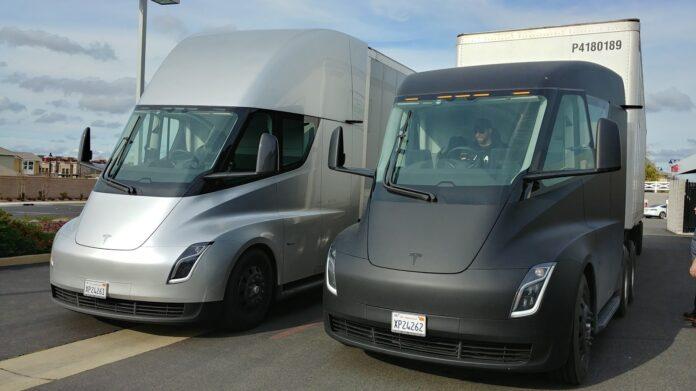 Tesla Semi уже используется самой компанией