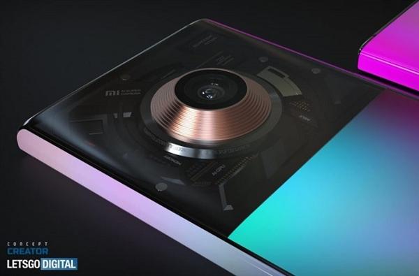 Появились концепты Mi Mix 4 в высоком разрешении, основанные на патентах