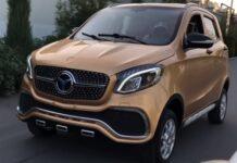 Китайцы с узбеками готовят электрическую реплику Mercedes за 3 000 долларов
