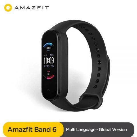 Стало известно, каким будет Amazfit Band 6