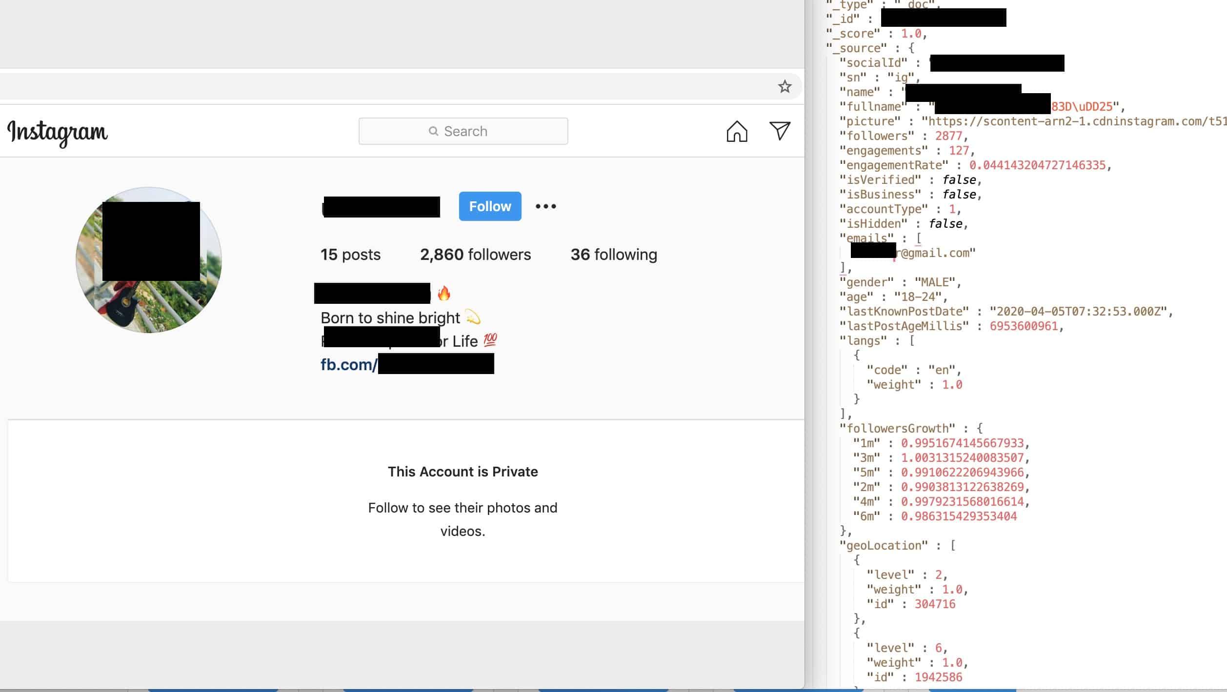Данные юзеров Instagram, YouTube и TikTok оказались в Сети