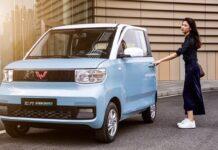 Китайско-американский электрокар Hong Guang MINI EV может стать хитом продаж