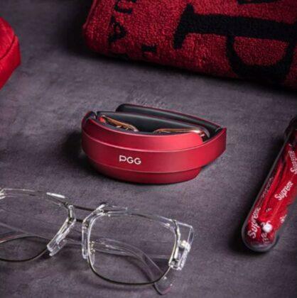 Массажер для шеи Xiaomi PGG D18A - красный