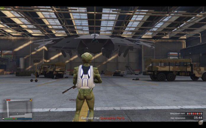 В GTA 5 обнаружили НЛО