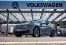 Электрический кроссовер Volkswagen ID.3 умудрился проехать от одной зарядки свыше 500 км