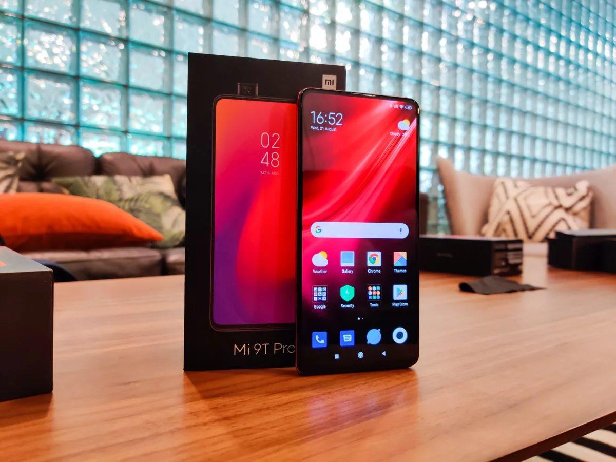 В Xiaomi Mi 9T Pro была обновлена прошивка MIUI 12