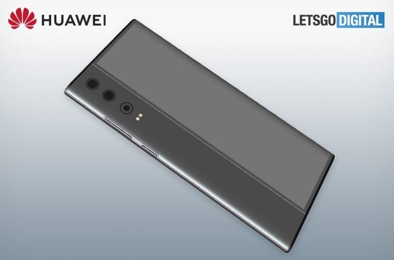 В Сеть утекли патентные изображения нового смартфона Huawei