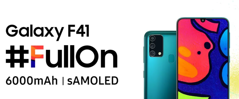 Недорогой Samsung Galaxy F41 получит хорошие характеристики камер
