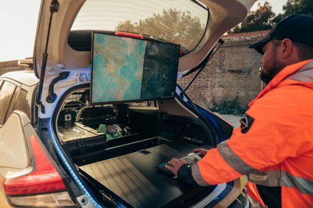 Nissan Leaf стал внедорожником-электростанцией специального назначения