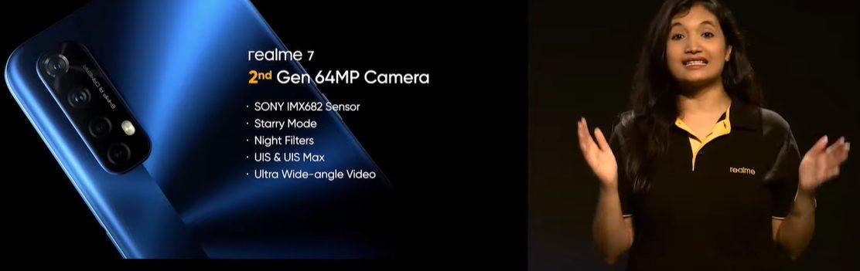 Особенности камеры Realme 7